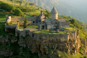 Tatev_Monastery_from_a_distance